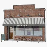 restaurant 3D models