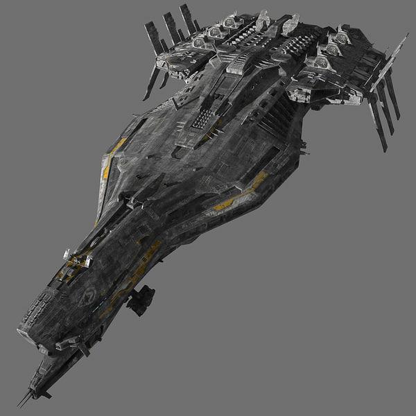 Spaceship_Cruiser 3D Models