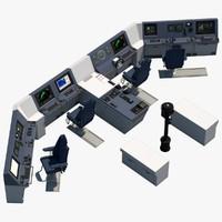 vessel interiors and exteriors 3D models
