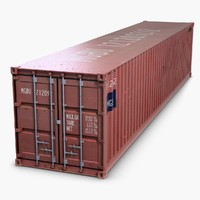 cargo container 3D models
