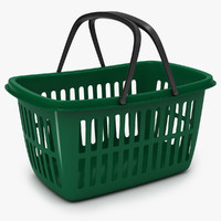shopping cart 3D models