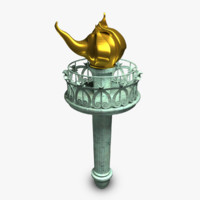 Torch 3D models