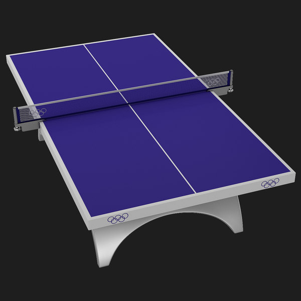 Table Tennis Table 3D Models