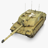 main battle tank 3D models
