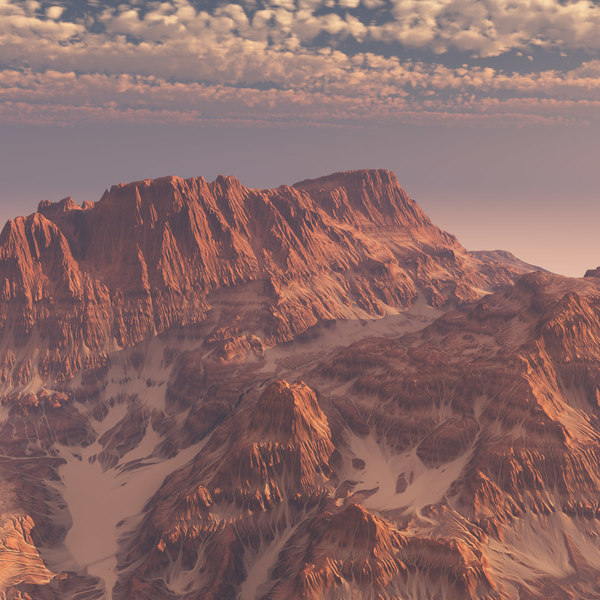 Desert Mountain 3D Models