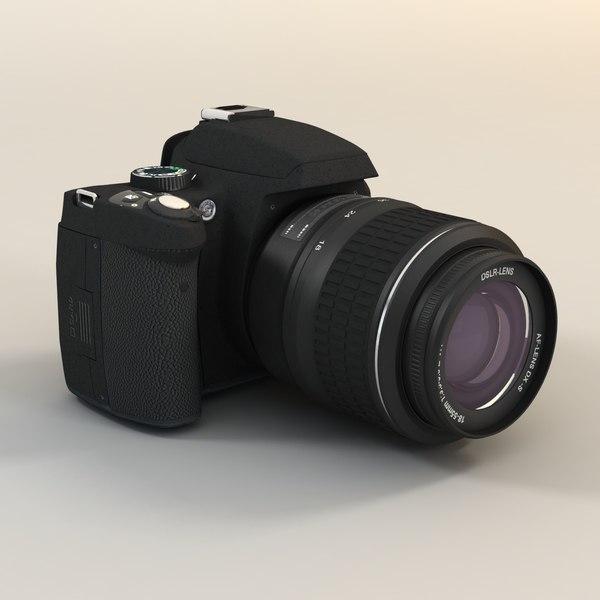 DSLR Photo Camera Stock Photography
