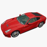 ferrari f12 berlinetta 3D models