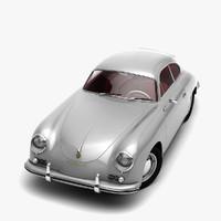 porsche 356 3D models
