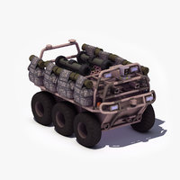 unmanned ground vehicle 3D models