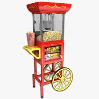 food cart 3D models