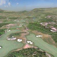 Golf Course 3D models