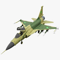 JF-17 3D models