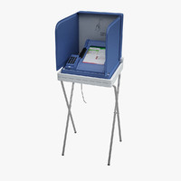 Voting Machine 3D models