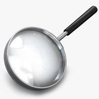 Magnifying Glass 3D models