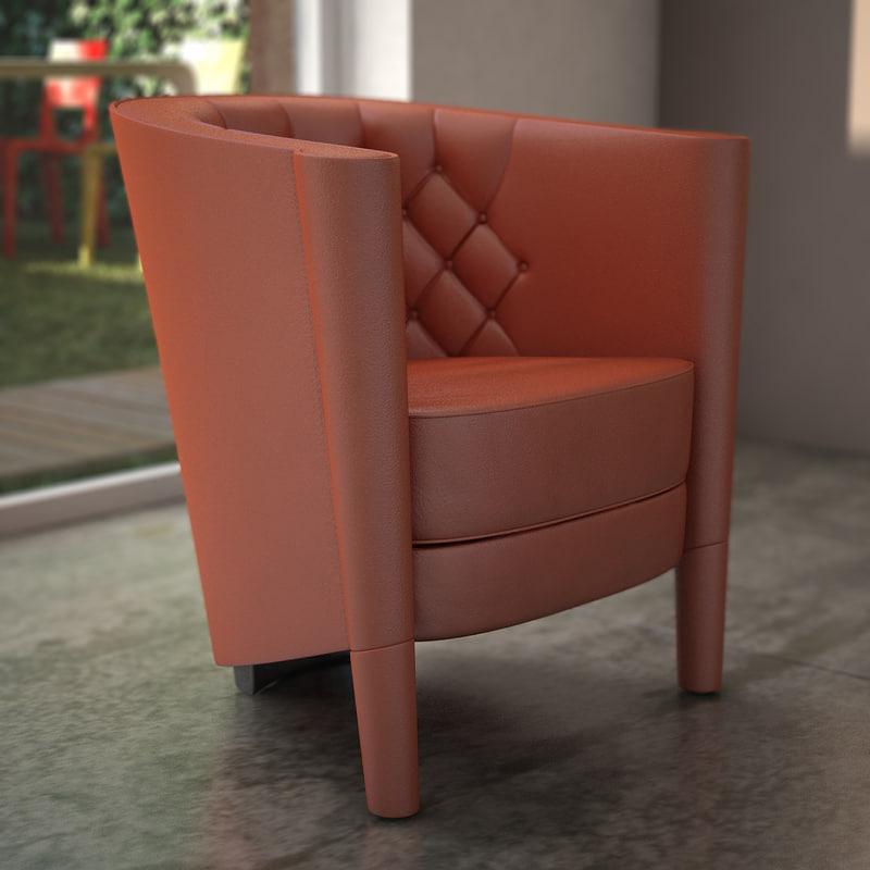 Moroso - Rich Cushion Armchair