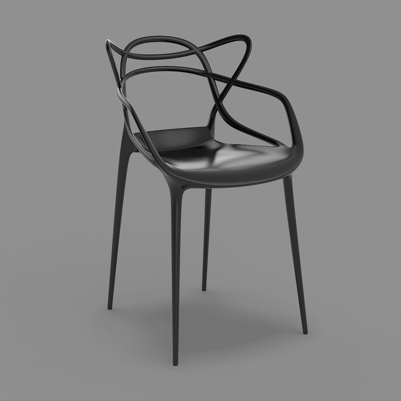 masters chair   starck kartell max