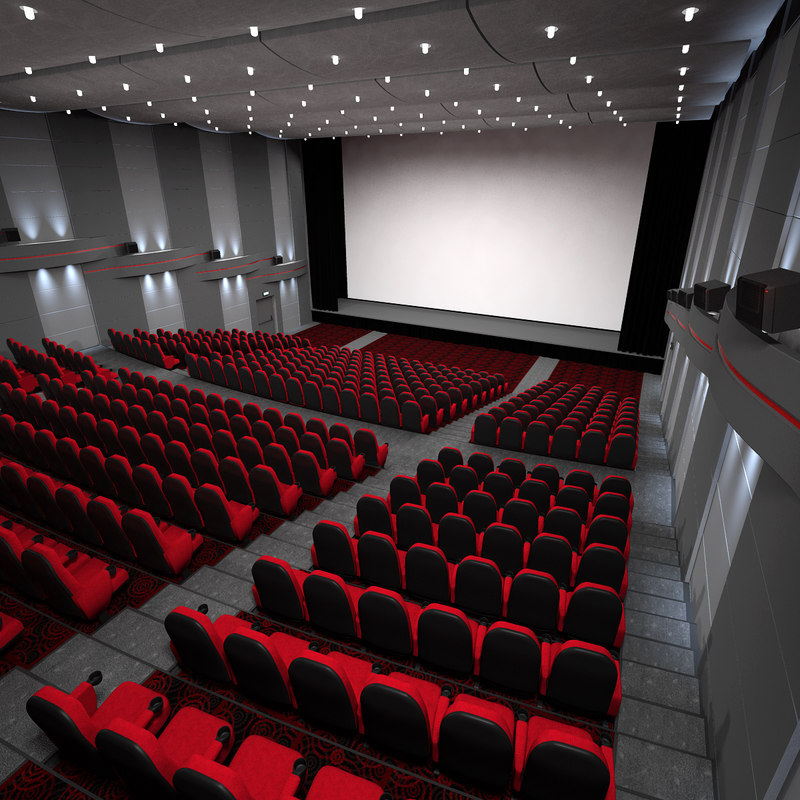 Cinema theater hall modelled 3d max for Inside 2007 movie online free