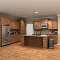 residential spaces 3D models