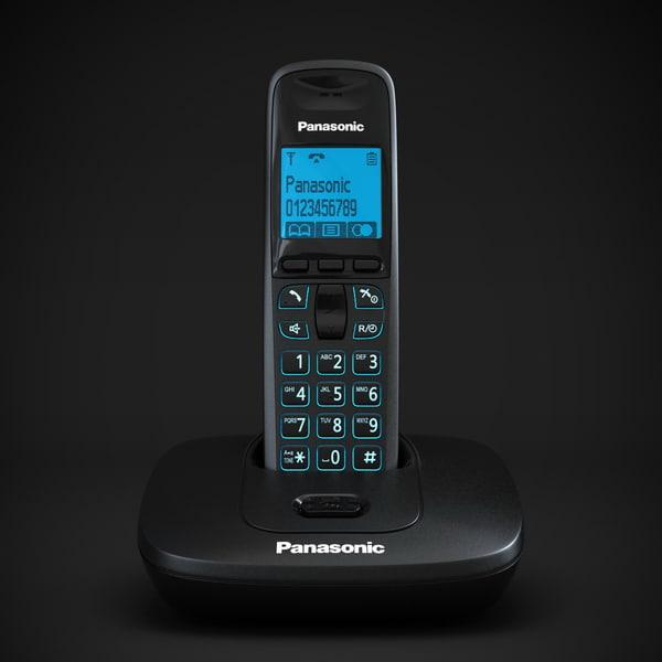 Panasonic KX-TG6411 3D Models