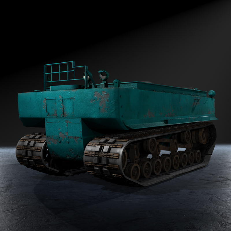 United States WWII M29 Weasel Snow Tractor Prime Mover