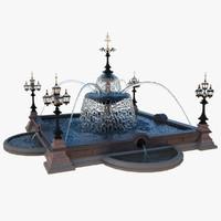 fountain 3d models