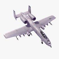 A-10 Thunderbolt II 3D models