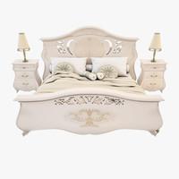 bedroom set 3D models
