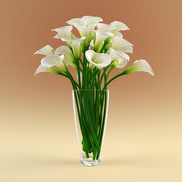 3D vase Models max 3ds obj fbx c4d