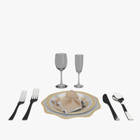 Dinner Plate 3D models