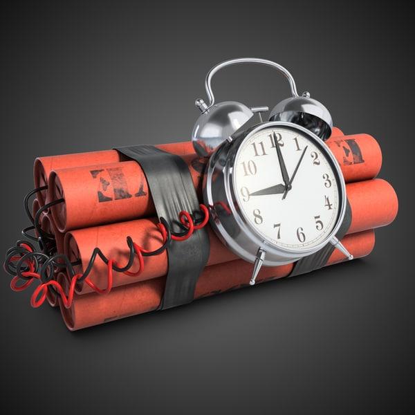 Time Bomb 1 3D Models