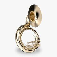 Brass Instrument 3D models