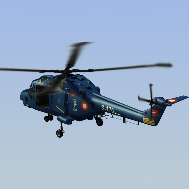 Navy Lynx Helicopter