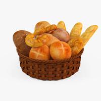 baked goods 3D models