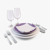 tableware 3D models