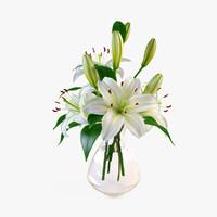 lily bouquet 3D models
