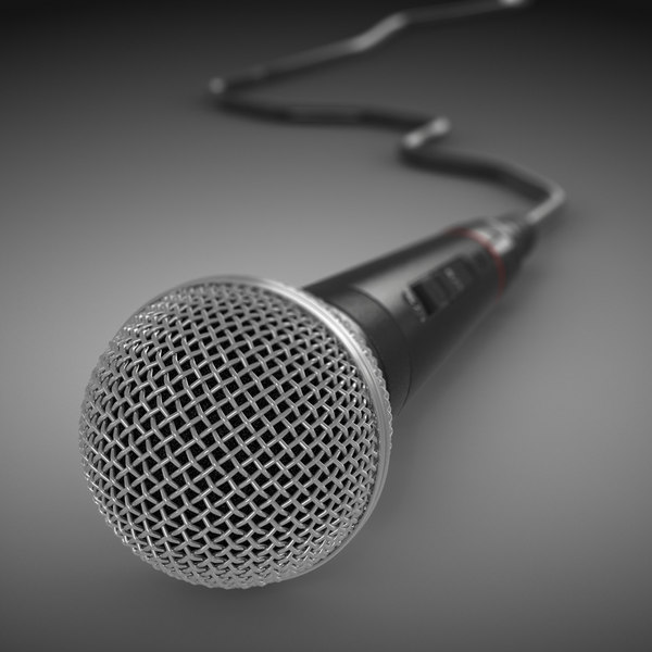 Microphone (sm58) 3D Models