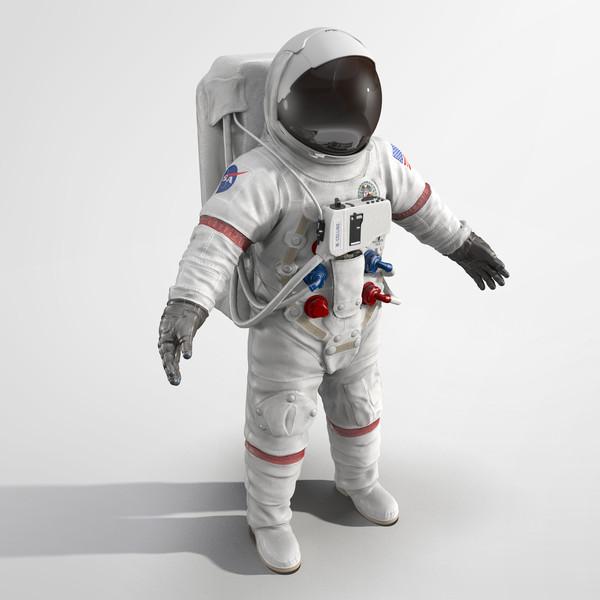 Astronaut Suit 3D Models