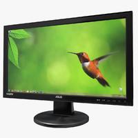 computer monitor 3d models