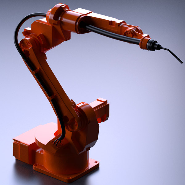 Industrial Robot 3D Models