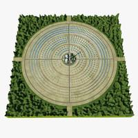 solar power site 3D models