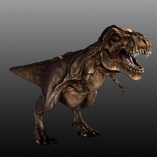 Tyrannosaurus Rex Rigged 3D Models