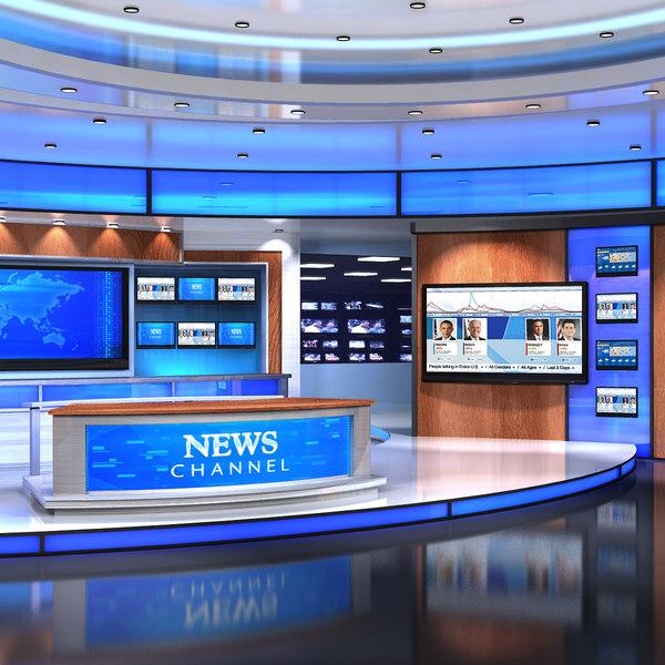 VR Studio News American3 3D Models