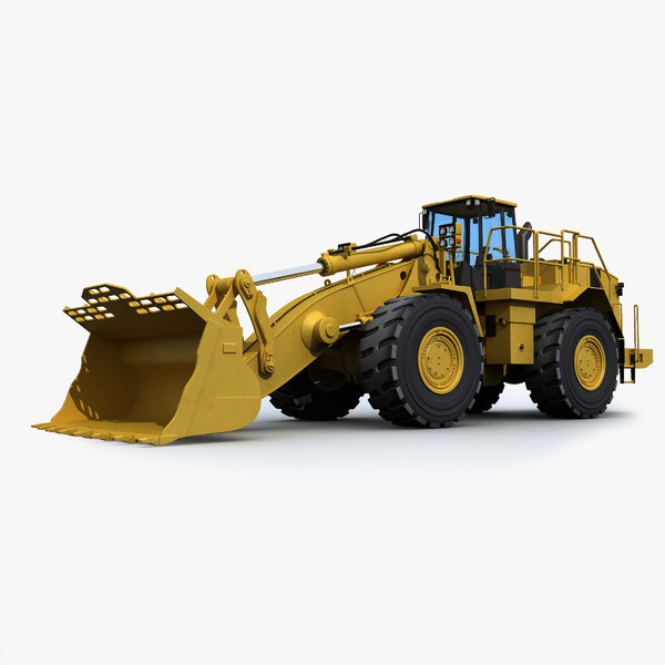 Mining Wheel Loader 3D Models