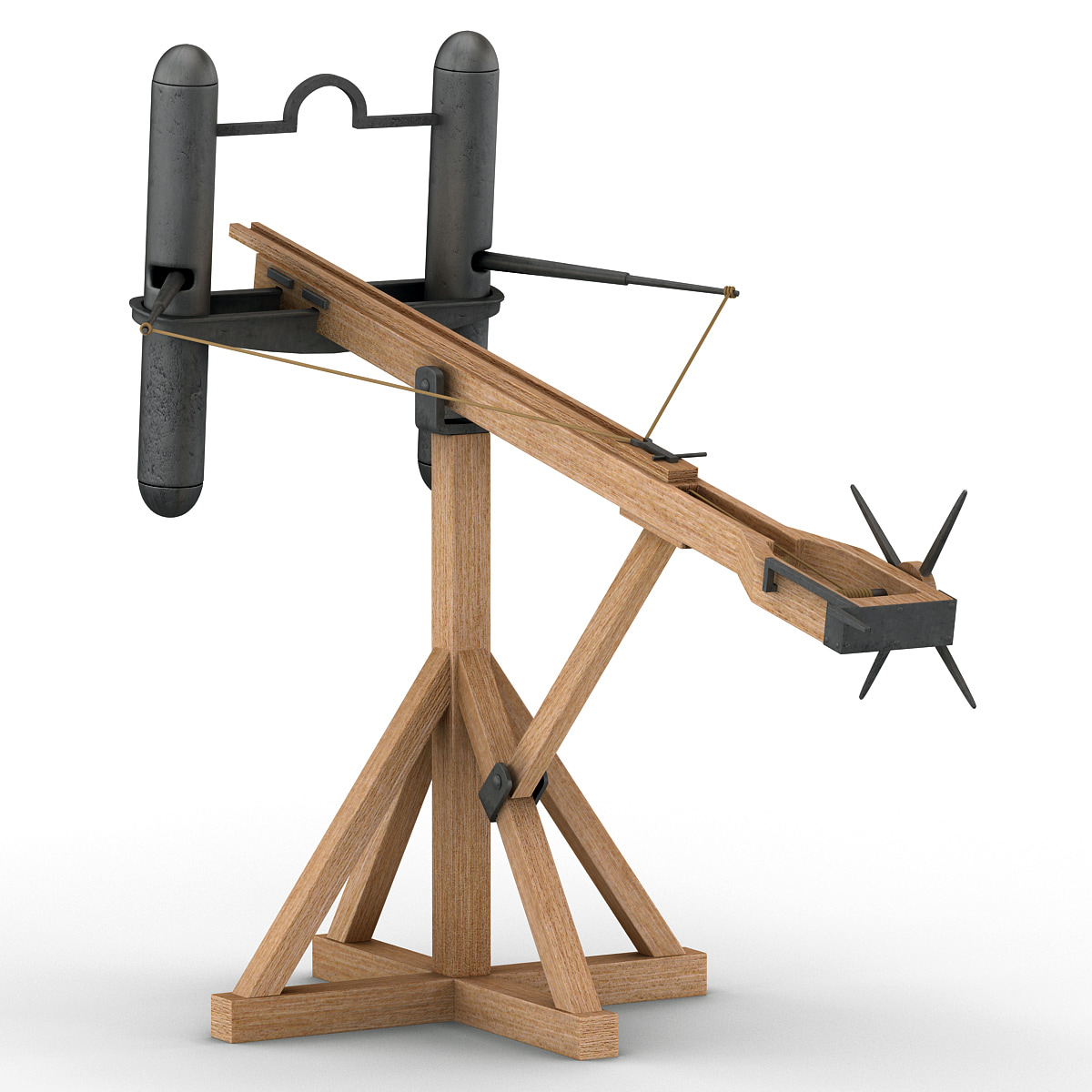 roman light ballista 3d model