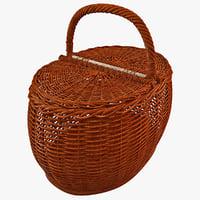 Picnic Basket 3D models