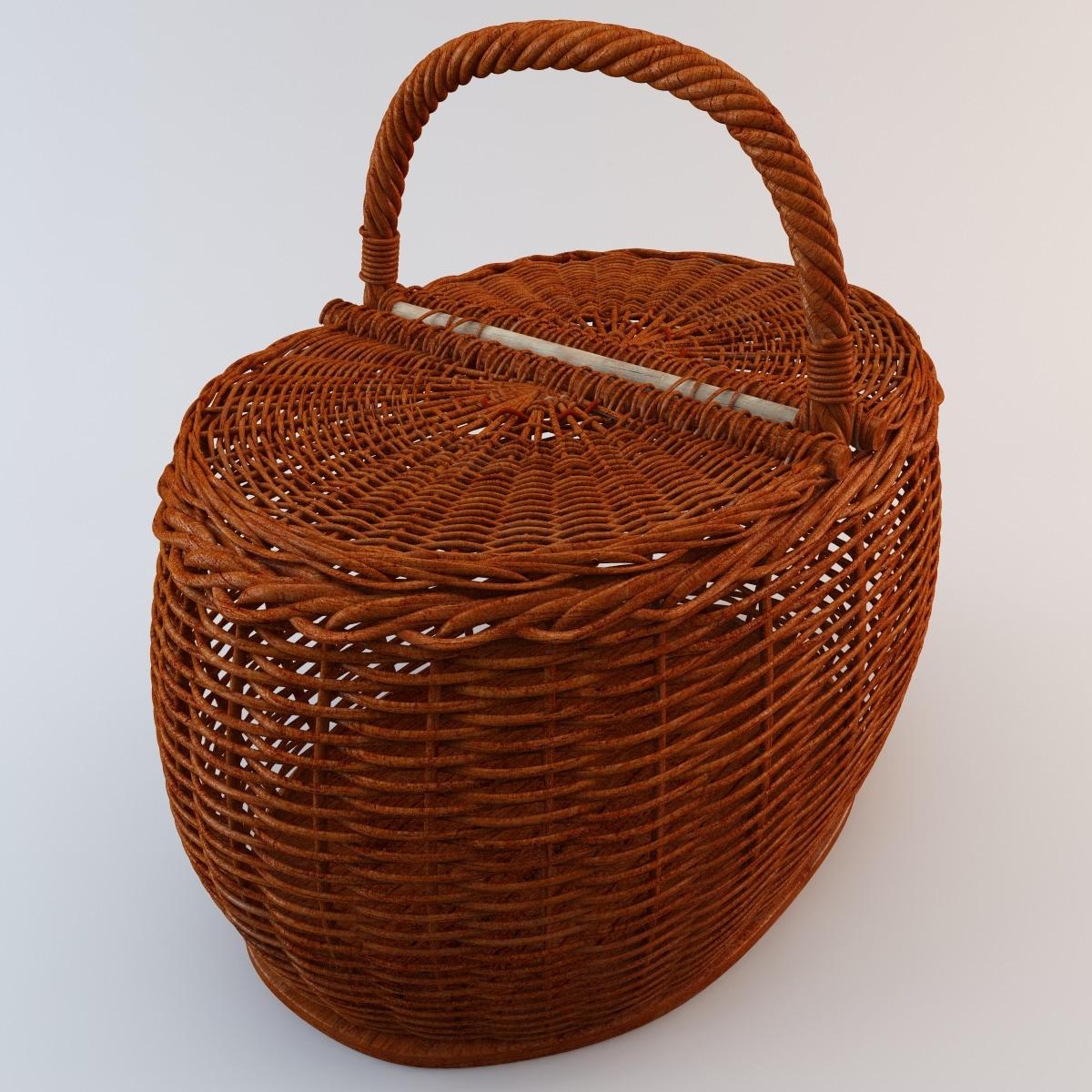 Wooden Basket 3