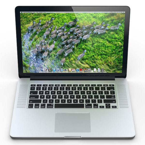Macbook Pro Retina 3D Models