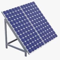 solar cell 3D models