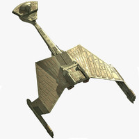 Klingon ship 3D models