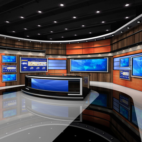 VR Studio News American 1 3D Models